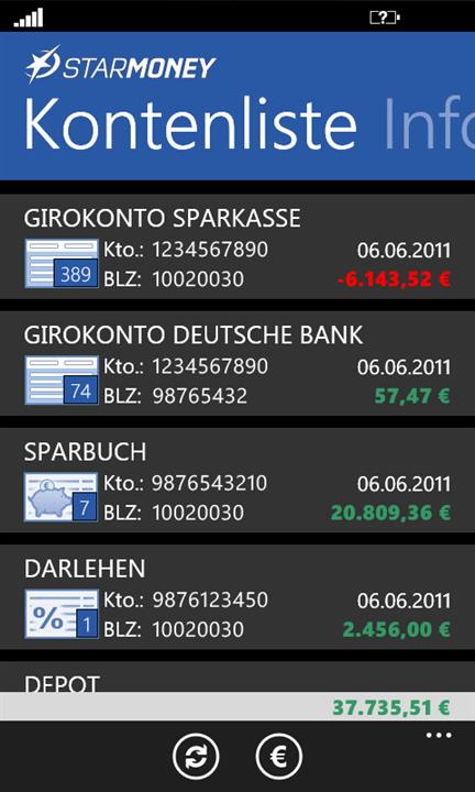 Deutsche Bank Empfehlung Geschenk unabhängige windows phone banking app app empfehlung