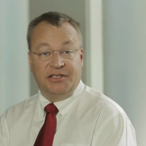 Stephen Elop, CEO Nokia