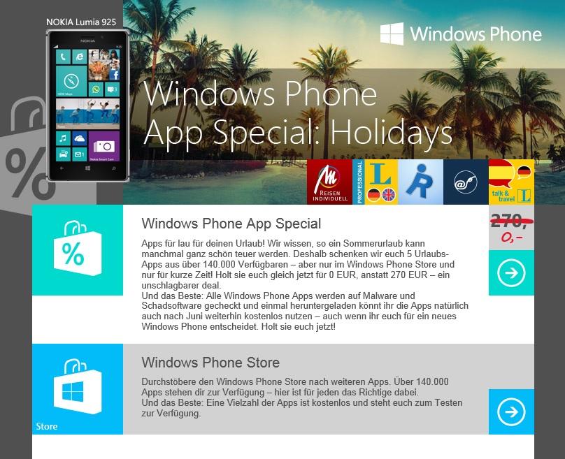 windows phone spiele apps