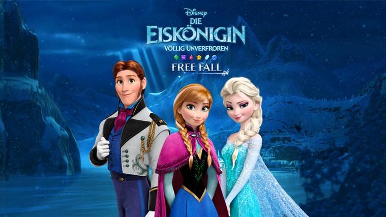 Disneys frozen free fall die eiskönigin jetzt für windows phone
