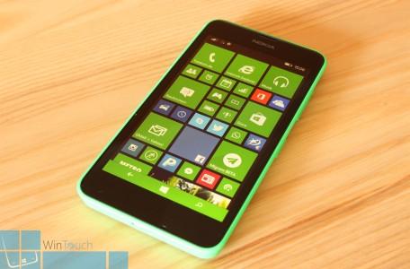 Nokia Lumia 630 Display