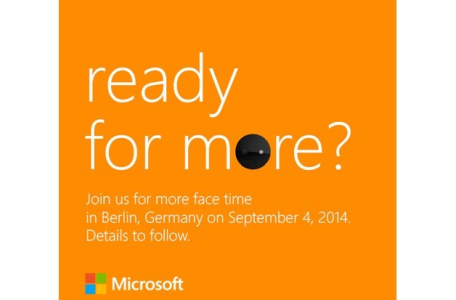 Microsoft Ready for More IFA 2014