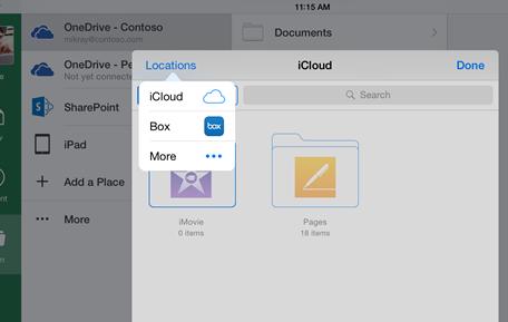 iCloud Office App